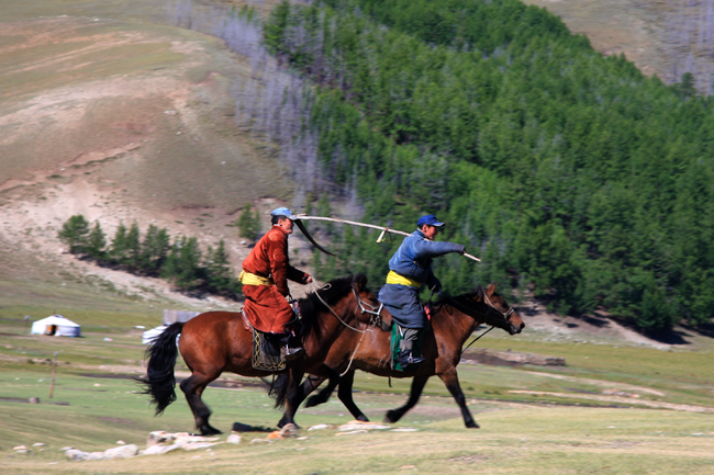 המונגולים - טיול ליפן