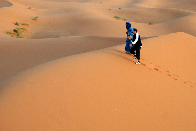 חולות מרזוגה, מדרום לריסאני. בסהרה המרוקאית. צילום: גילי חסקין