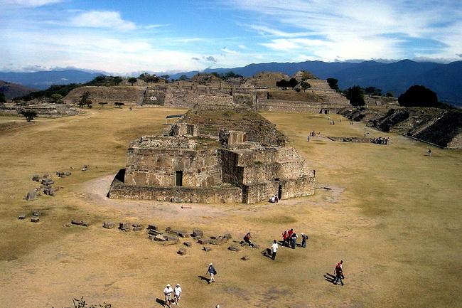 טיול למקסיקו - מונטה אלבן