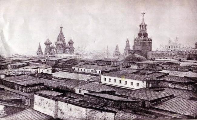מוסקבה במאה ה 18
