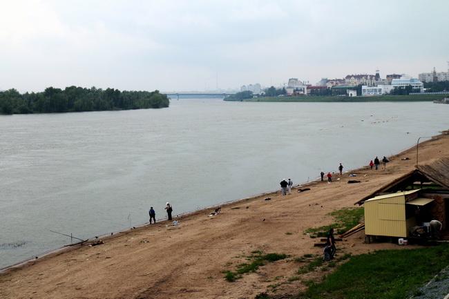 נהר אירטיש. צילם: גילי חסקין
