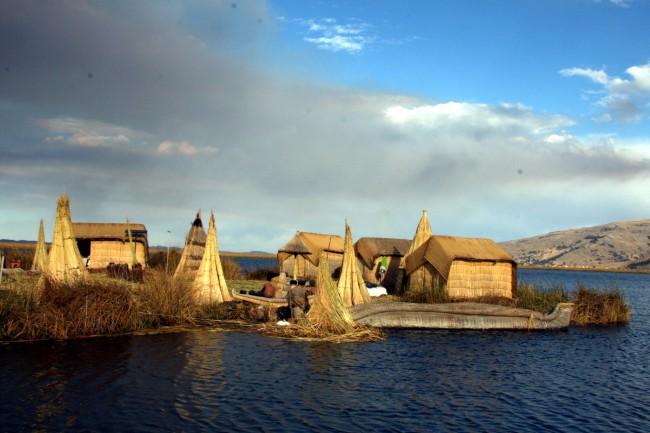 טיול לפרו - אגם טיטקקה
