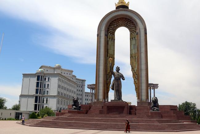 טיול בטג'יקיסטן - דושנבה