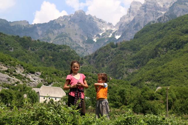 בכפר תט שבאלפים הדינאריים, אלבניה. צילום: גילי חסקין