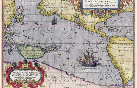 גילוי מרחביו של האוקיינוס השקט