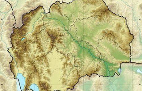 גיאוגרפיה של מקדוניה