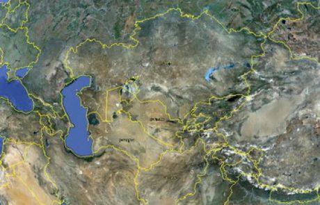 גיאוגרפיה היסטורית של תורכסטן – דרך המשי