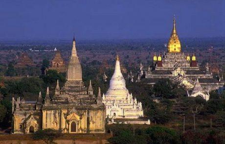 טיול למינמאר (בורמה) בפברואר 2011