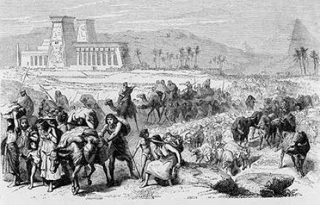 הזיקה בין כנען וארץ ישראל למצרים, בתקופה הפרעונית