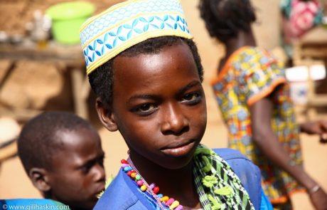 טיול לבנין שבמערב אפריקה