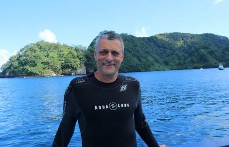 יומן הצלילה באי קוקוס