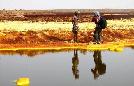 אתיופיה – מדבר דנקיל