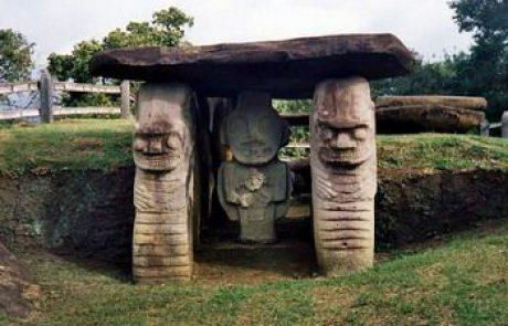קולומביה – סיור בהרים הירוקים, זרועי הפסלים שבסן אגוסטין