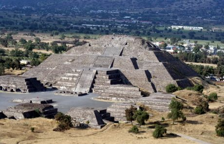 טהוטיהואקאן שבלב מקסיקו