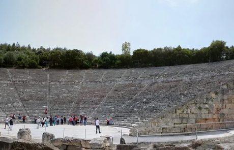 אפידאורוס שביוון ופולחן אסקלפיוס -אל הרפואה