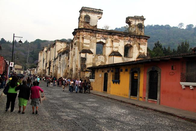 טיול לגואטמלה - אנטיגואה